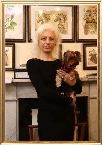 Jurita AGSA with her little doggy Bad Boy Tyler (called Masik)