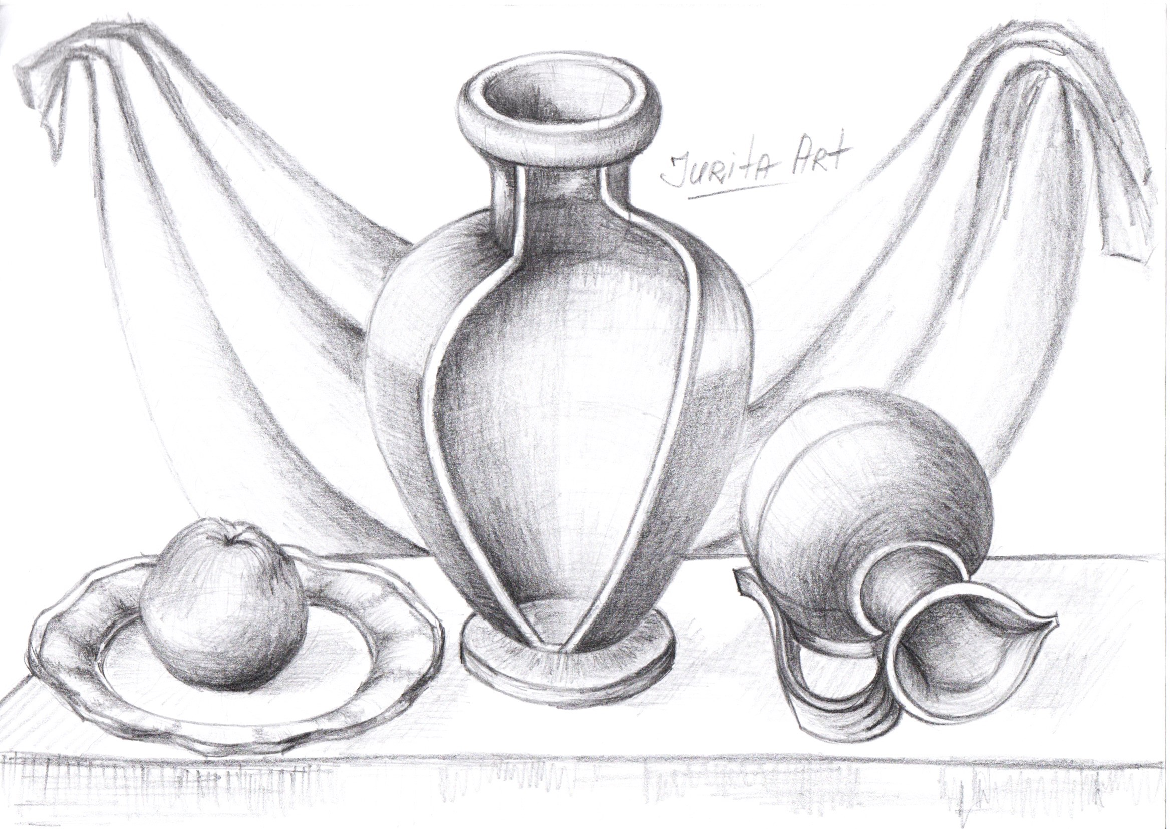 Basic Skills Pencil Drawing Techniques By Jurita Agsa Art C Jurita Agsa Art