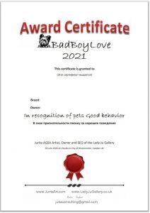 Masiklove animals awards template